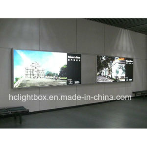 LED Super Large Light Box Used Indoor or Outdoor with Picture Frame