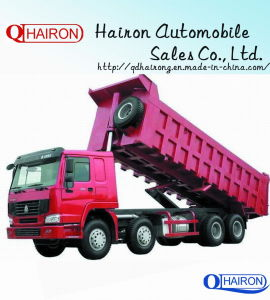 Hot Sale HOWO 8X4 Tipper Truck 30-50ton 336HP