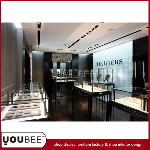 Fashion Jewelry Display Showcase, Elegant Jewelry Display Cabinet for Jewelry Store