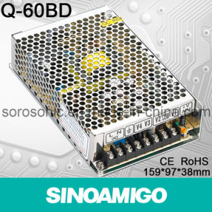 60W Qual Output Switching Power Supply (Q-60BD)