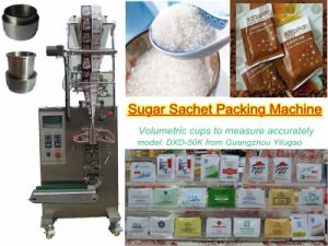 4 Sides Sealing Sugar Packing Machine (PLC control; 40 bags/min;) pictures & photos