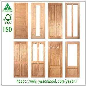 Wood Veneer Flush Door French Door Timber Door  sc 1 st  Qingdao Yasen Wood Co. Ltd. & China Wood Veneer Flush Door French Door Timber Door - China Wooden ...