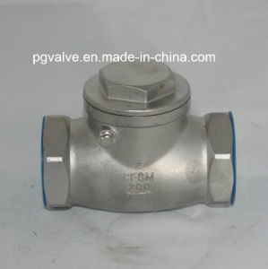 CF8 1000wog NPT Swing Check Valve with High Quality