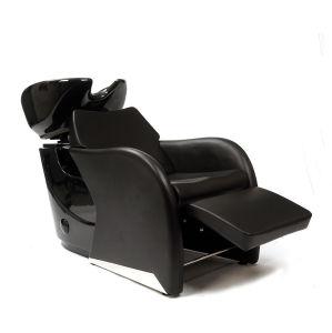 Heavy Duty Base Shampoo Unit Long Seat Washing Chair Bed