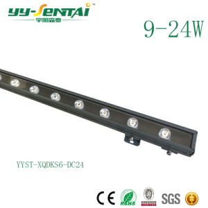 IP65 Waterproof 12W Face Building Light 24V Aluminium LED Wallwasher Facade Lighting