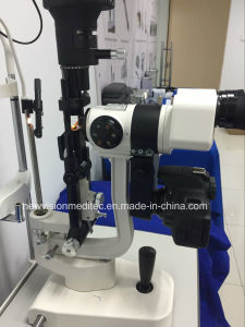 Integrated Beam Splitter and DSLR Camera Adapter for Slit Lamps pictures & photos