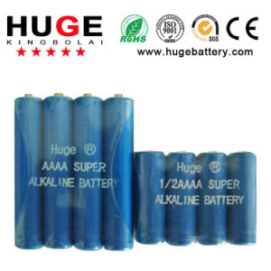 AAAA Size Lr61 N Size 1.5V Alkaline Battery pictures & photos