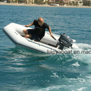 Liya Rescue Boat Military Inflatable Rubber Boat for Sale pictures & photos