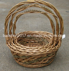 Weaving by Mixed Sea Grass Willow Basket pictures & photos