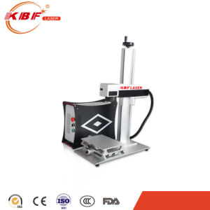 Mopa Fiber Laser Engraver Machine for Alumina Balck Marking pictures & photos