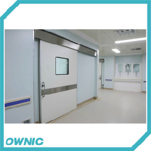 Embedded Type Automatic Hermetic Sliding Door Double Open Door pictures & photos