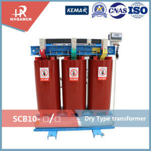 Epoxy Resin Cast 30-2500kVA 3 Phase Power Frequency Dry Type Transformer