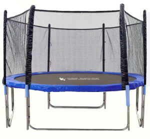 Big Trampoline with Basketball Hoops (12ft)