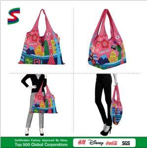 Promotional Eco-Friendly Polyester Foldable Shopping Bags