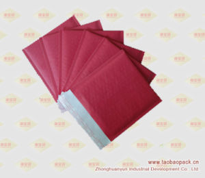 Red Kraft Bubble Mailer