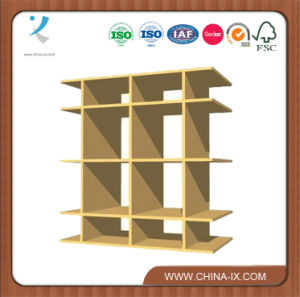 Wooden Gondola Display Stand with 4 Shelves pictures & photos