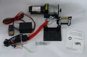 DC 12V Recovery off-Road Electric Winch (3000lb-2)