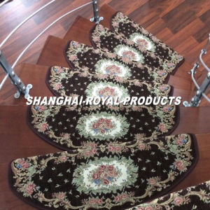 Anti-Slip Chenille Jacquard Mat Stair Carpet Home Carpet pictures & photos