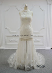 Angel Bridal Princess/A Line Strapless Top Sale Wedding Dress pictures & photos