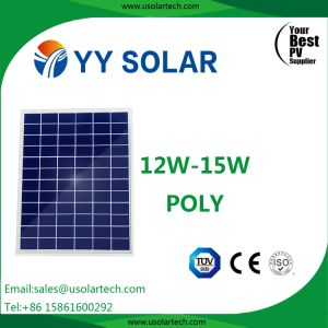 12W-15W Solar Panel for LED Light System pictures & photos