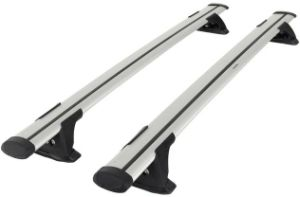Silver Roof Rack with Black Set/ Silver Roof Rack