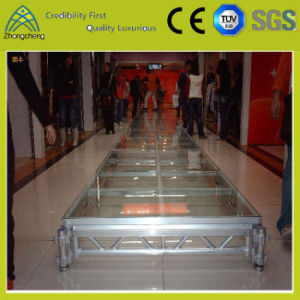 Adjustable Aluminum Acrylic Activity Stage for LED Lighting Performance pictures & photos