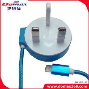 China Mobile Phone UK Apple Plug Wired for iPhone Wall Charger ...