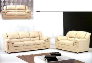 Living Room Furniture Soft Leather Sofa (1+2+3) pictures & photos