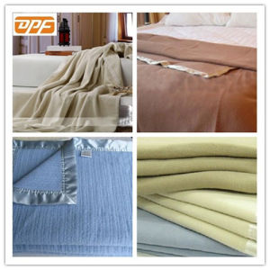 Wholesale Factory Price Polyester Blanket for Hotel, Hospital, Nursing, Airplane pictures & photos