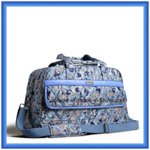 Fashion Printing Pattern Travel Bag, Casual Luggage Bag, Sport Duffel Bag with Shoulder Belt
