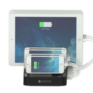7 Ports Cell Phone USB Charging Station Dock for iPhone iPad