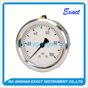 Back Connection Compound Stainless Steel Pressure Gauge