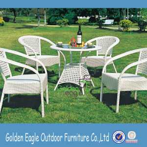Royal Fashion Powder Coating Aluminum Dining Set Furniture