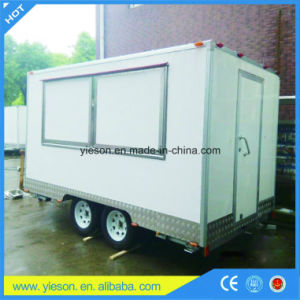 Yieson Manufacturer Fast Food Trucks Mobile Food Trailer with Ce pictures & photos