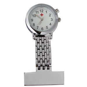 Nurse Watch Stainless Steel /W Japan Movt.