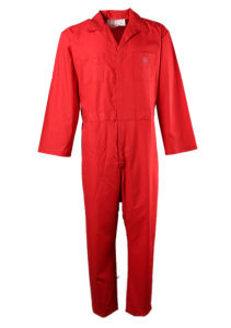 Factory Sale Flame Retardant Coverall Cotton Fr Uniform for Workers