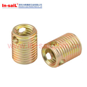 307&308 Series Self-Tapping Threaded Insert pictures & photos