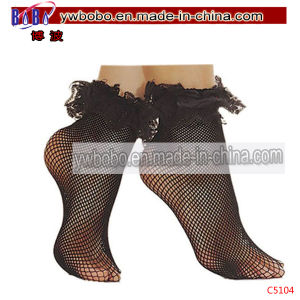 Black Fishnet Stockings Lady Pants Ankle Carnival Costumes (C5104) pictures & photos