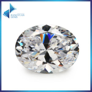Aaaaa Best Quality 5A Oval Shaped Cubic Zirconia Stone pictures & photos