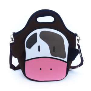 Hotsales Lovely Cartoon Insulted Neoprene Children Lunch Bag pictures & photos