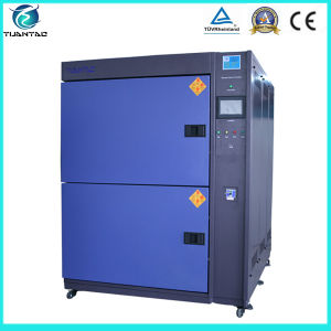 2 Zones Thermal Shock Test Chamber for Auto Parts pictures & photos
