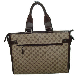 Patterned PU Handbag with Foam Padded
