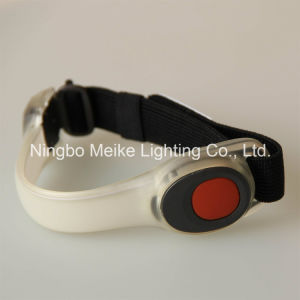 2red LED Outdoor Sport Safe Flashing Lighted Armband