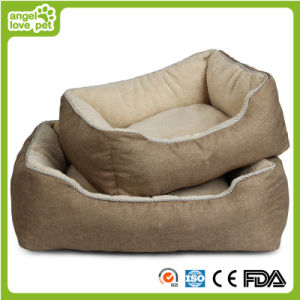Linen Soft Plush Slap-up Pet Bed (HN-pH564) pictures & photos