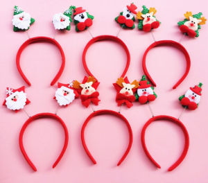 OEM Colorful Design Christmas Headband pictures & photos