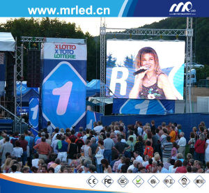 The Best P10mm (Super Flux) Outdoor LED Display Module / Stage LED Display by Shenzhen Mrled (DIP5454)