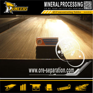 Gold Mining Beneficiation Machinery Gravity Shaking Table Mineral Concentration Equipment