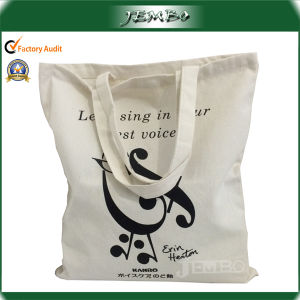 Natural White Tote Cotton Bag, Reusable Cotton Bag pictures & photos