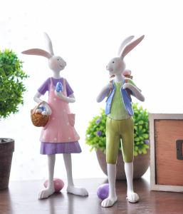 China Plush Rabbit Easter Day Gift Funny Bunny Soft Stuffed