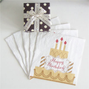 Colorful Paper Serviette for Birthday Party Gift pictures & photos